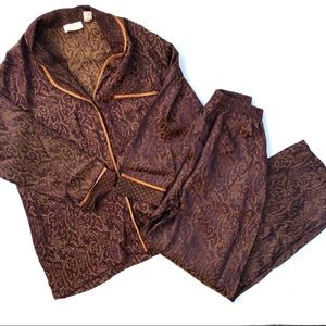 Vintage Victoria's Secret Victorian Pajama Set